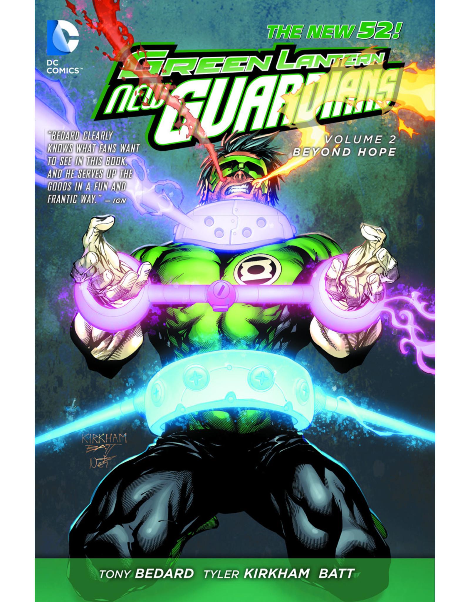 DC COMICS GREEN LANTERN NEW GUARDIANS TP VOL 02 BEYOND HOPE