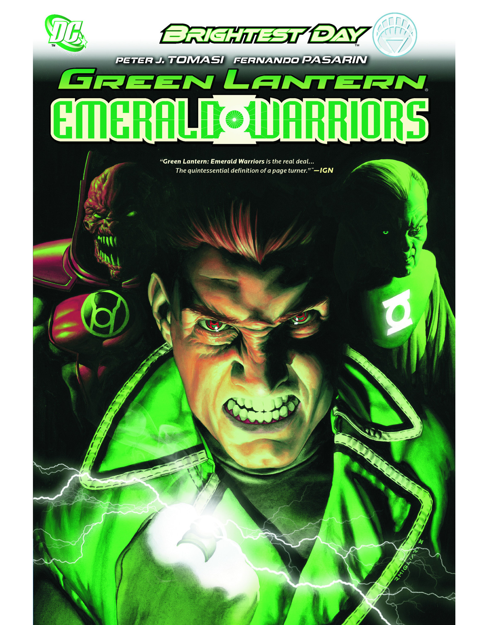 DC COMICS GREEN LANTERN EMERALD WARRIORS TP VOL 01