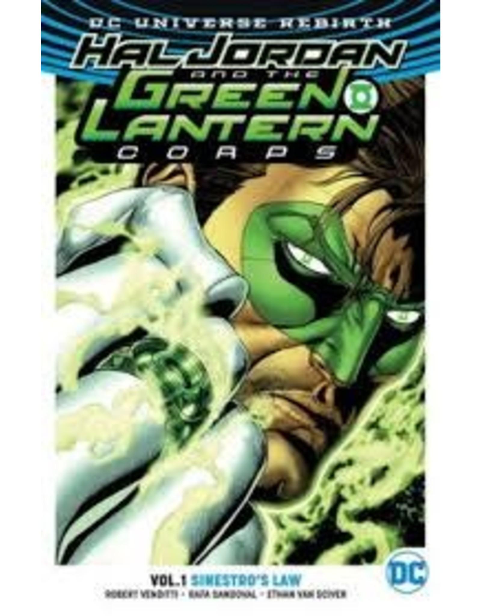 DC COMICS HAL JORDAN & THE GLC TP VOL 01 SINESTROS LAW (REBIRTH)