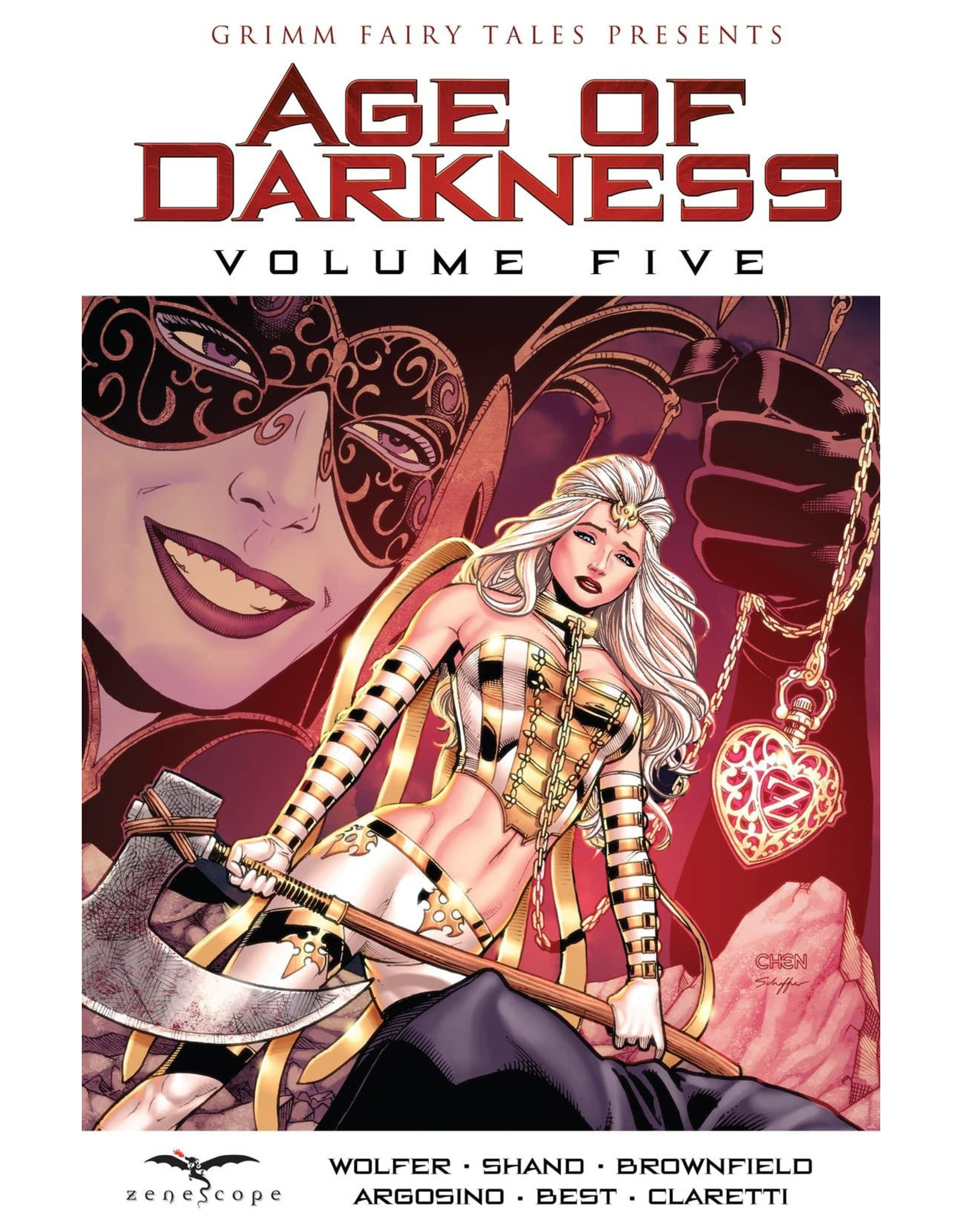 ZENESCOPE ENTERTAINMENT INC GRIMM FAIRY TALES AGE OF DARKNESS VOL 05