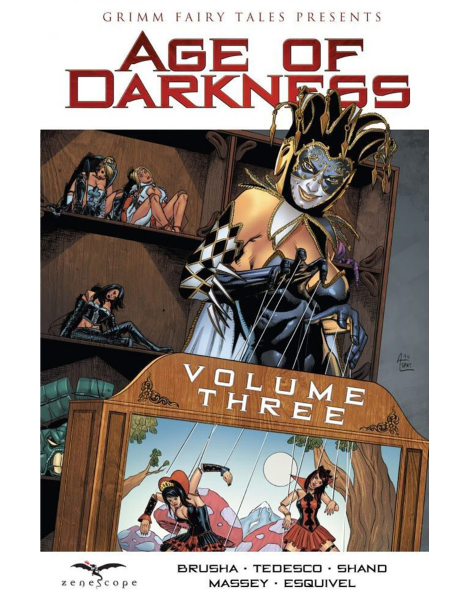 ZENESCOPE ENTERTAINMENT INC GRIMM FAIRY TALES AGE OF DARKNESS VOL 03