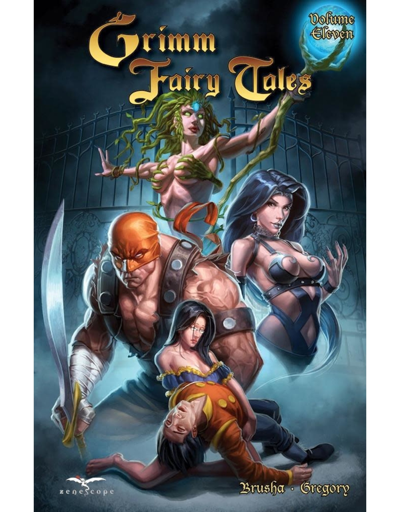 ZENESCOPE ENTERTAINMENT INC GRIMM FAIRY TALES VOLUME 11