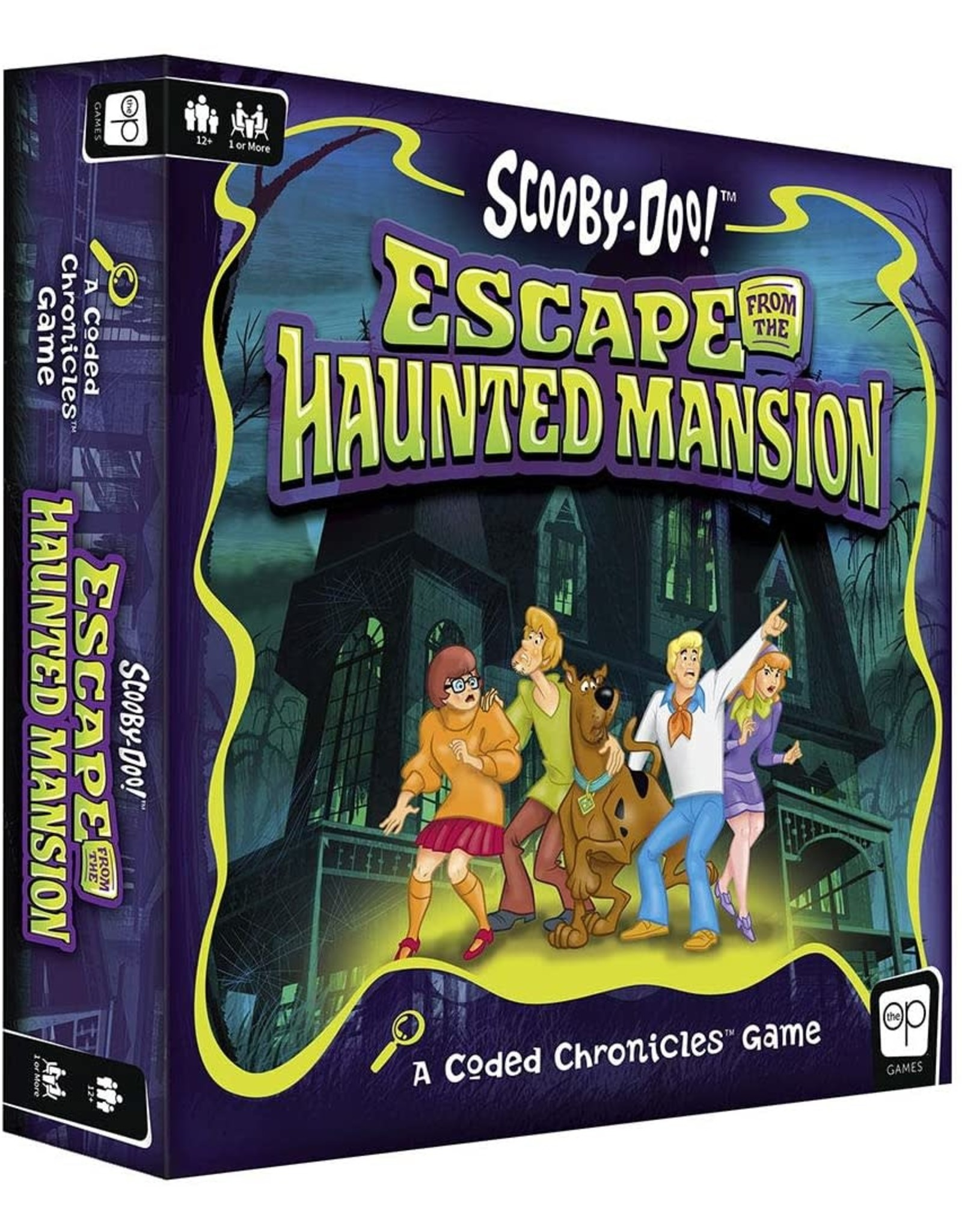 USAOPOLY SCOOBY-DOO! ESCAPE FROM THE HAUNTED MANSION