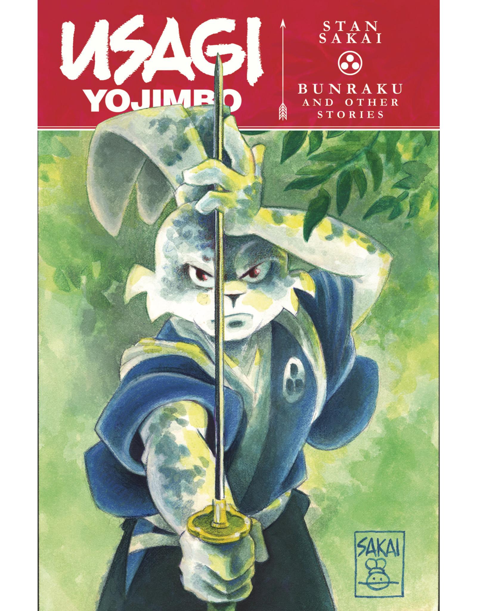IDW PUBLISHING USAGI YOJIMBO TP VOL 01 BUNRAKU & OTHER STORIES