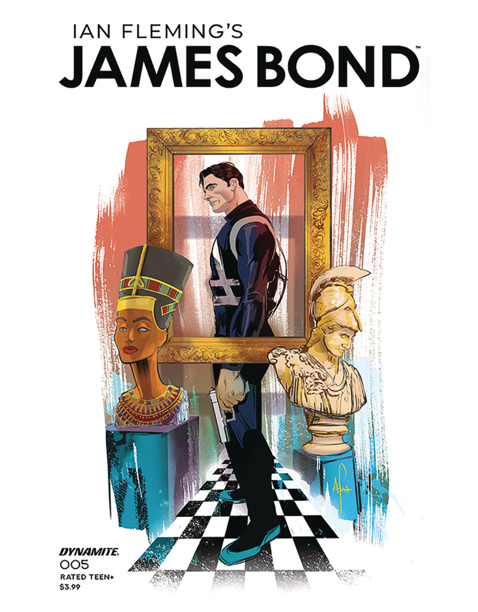 JAMES BOND #5 CVR A RICHARDSON