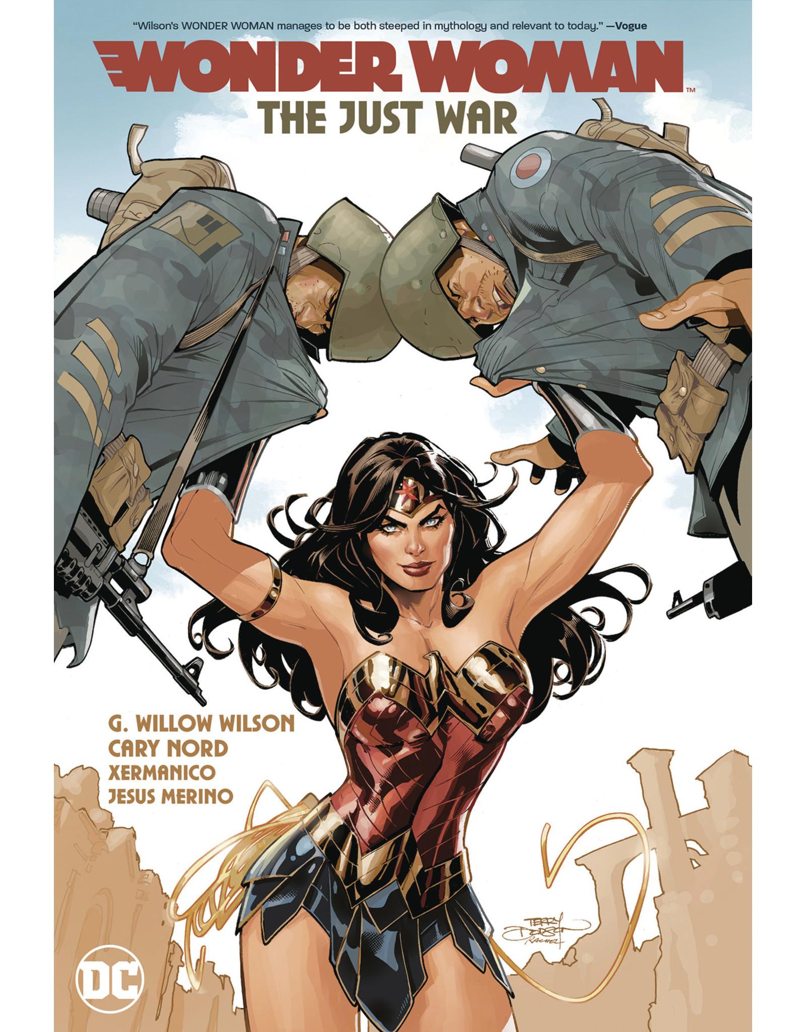 DC COMICS WONDER WOMAN TP VOL 01 THE JUST WAR