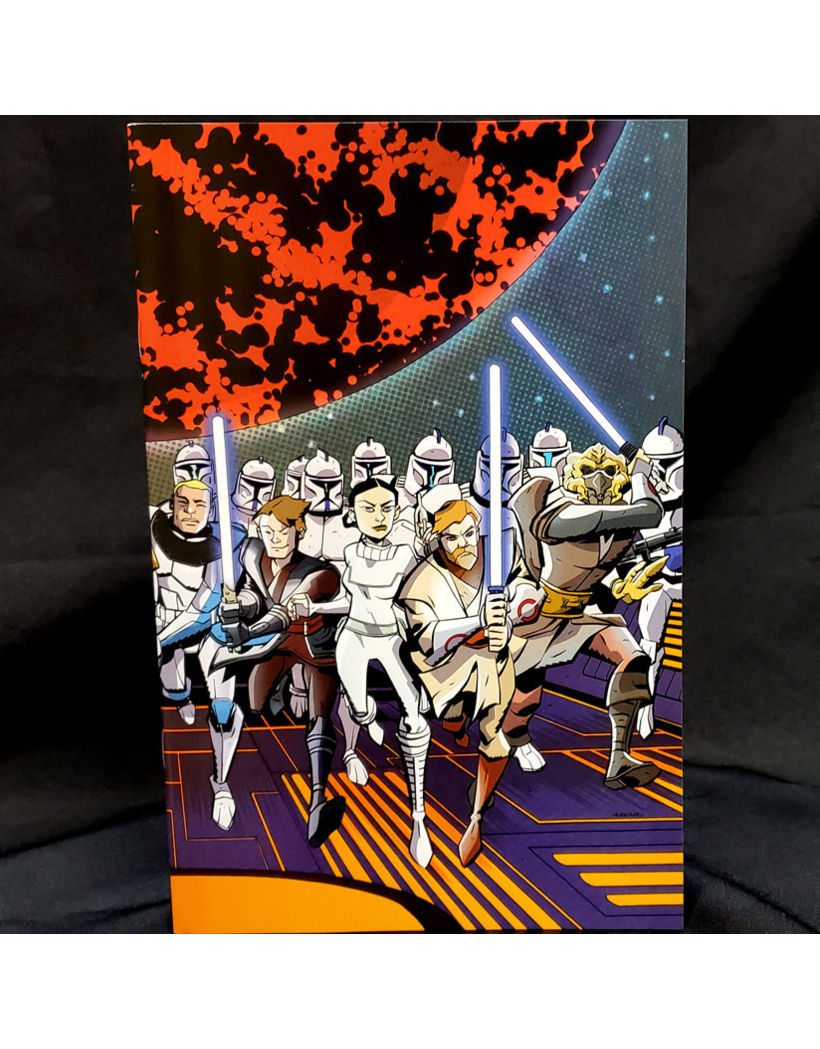 IDW PUBLISHING STAR WARS ADVENTURES CLONE WARS #1 (OF 5) 100 COPY INCENTIVE OEMING