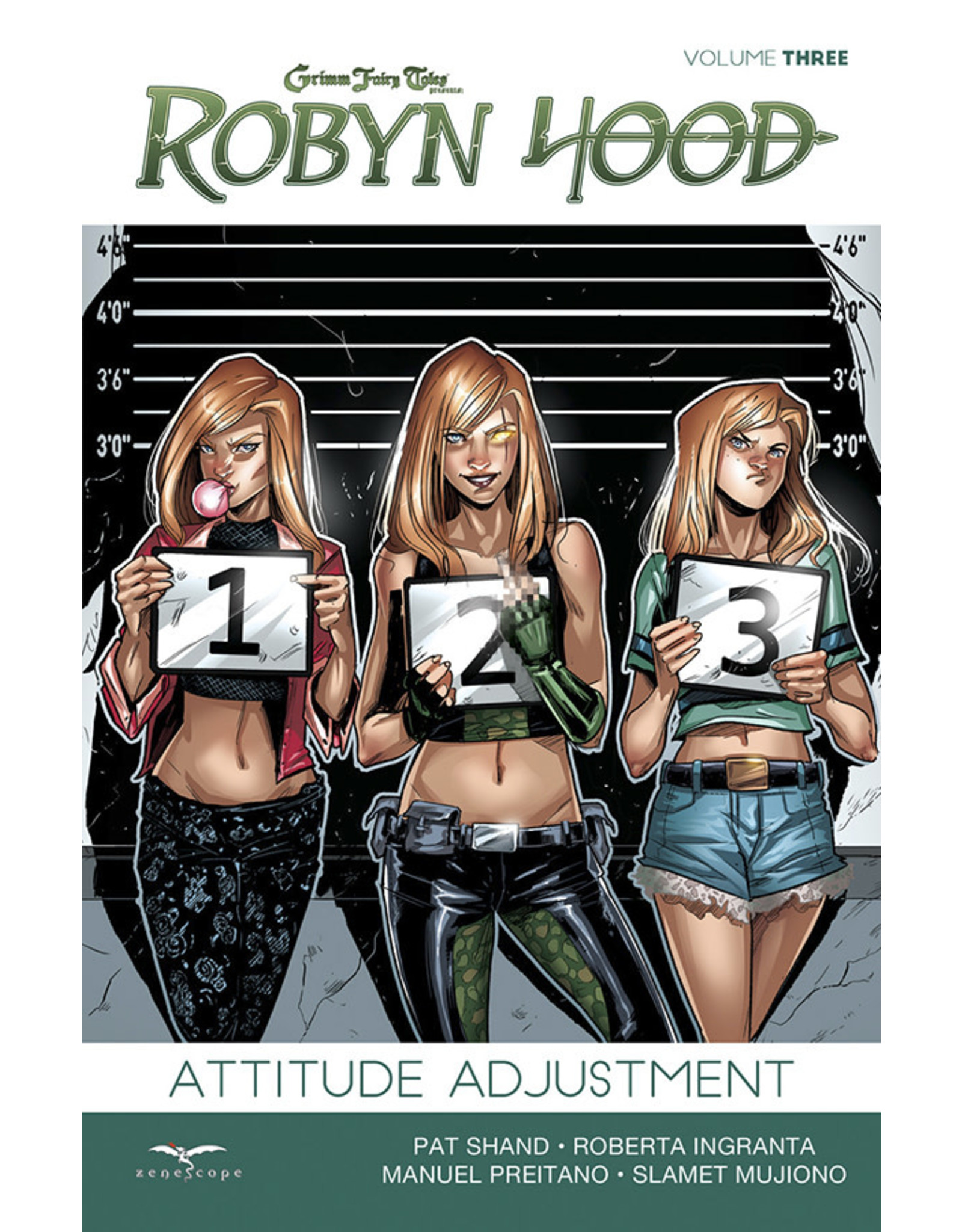 ZENESCOPE ENTERTAINMENT INC ROBYN HOOD ONGOING TP VOL 03 ATTITUDE ADJUSTMENT