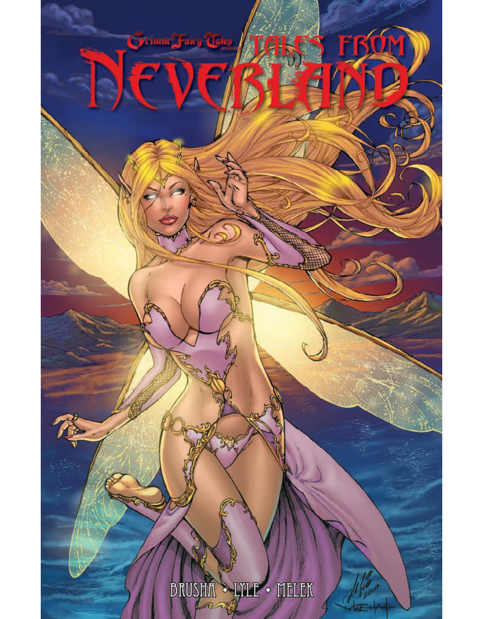 ZENESCOPE ENTERTAINMENT INC TALES FROM NEVERLAND TP