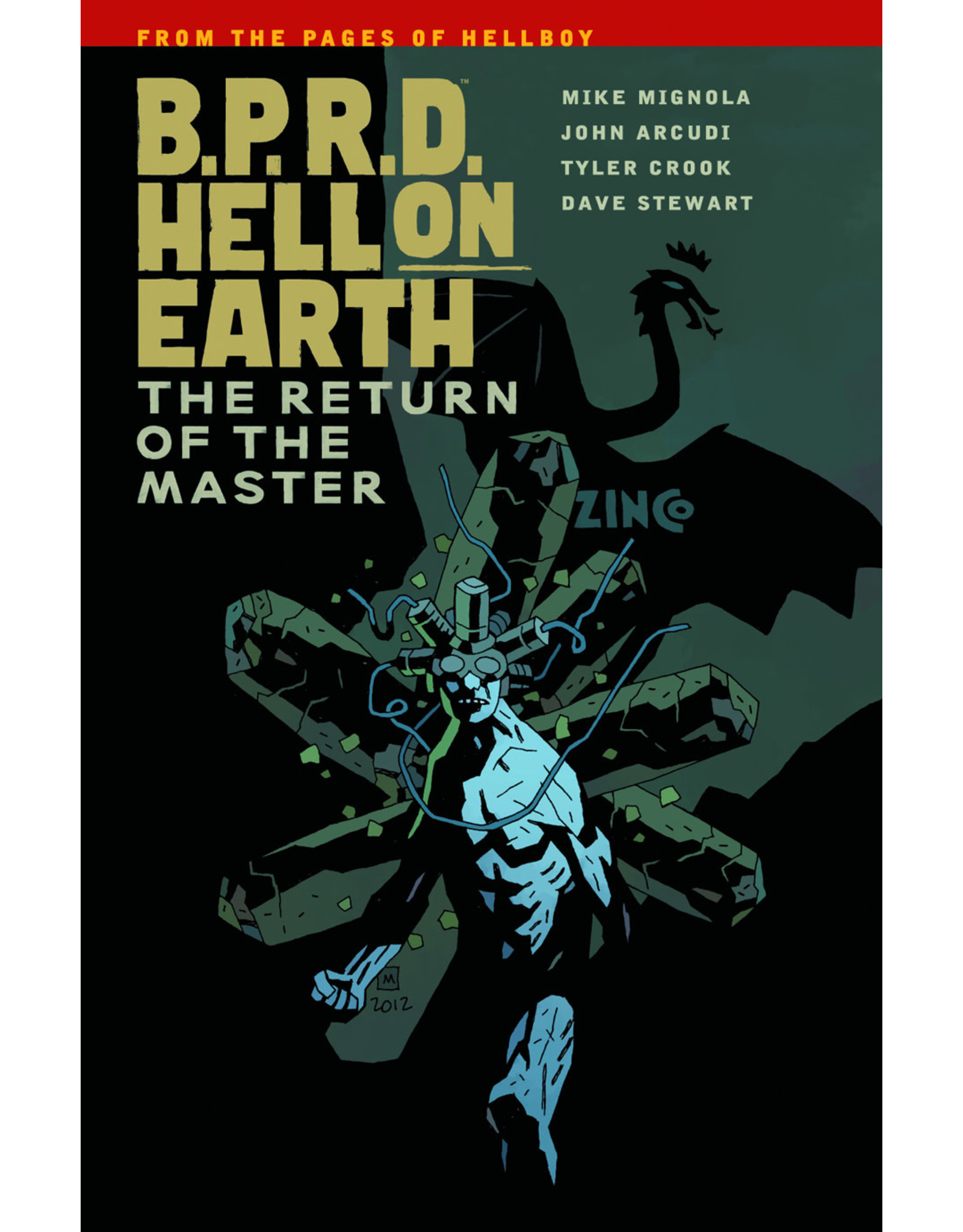 DARK HORSE COMICS BPRD HELL ON EARTH TP VOL 06 RETURN OF MASTER