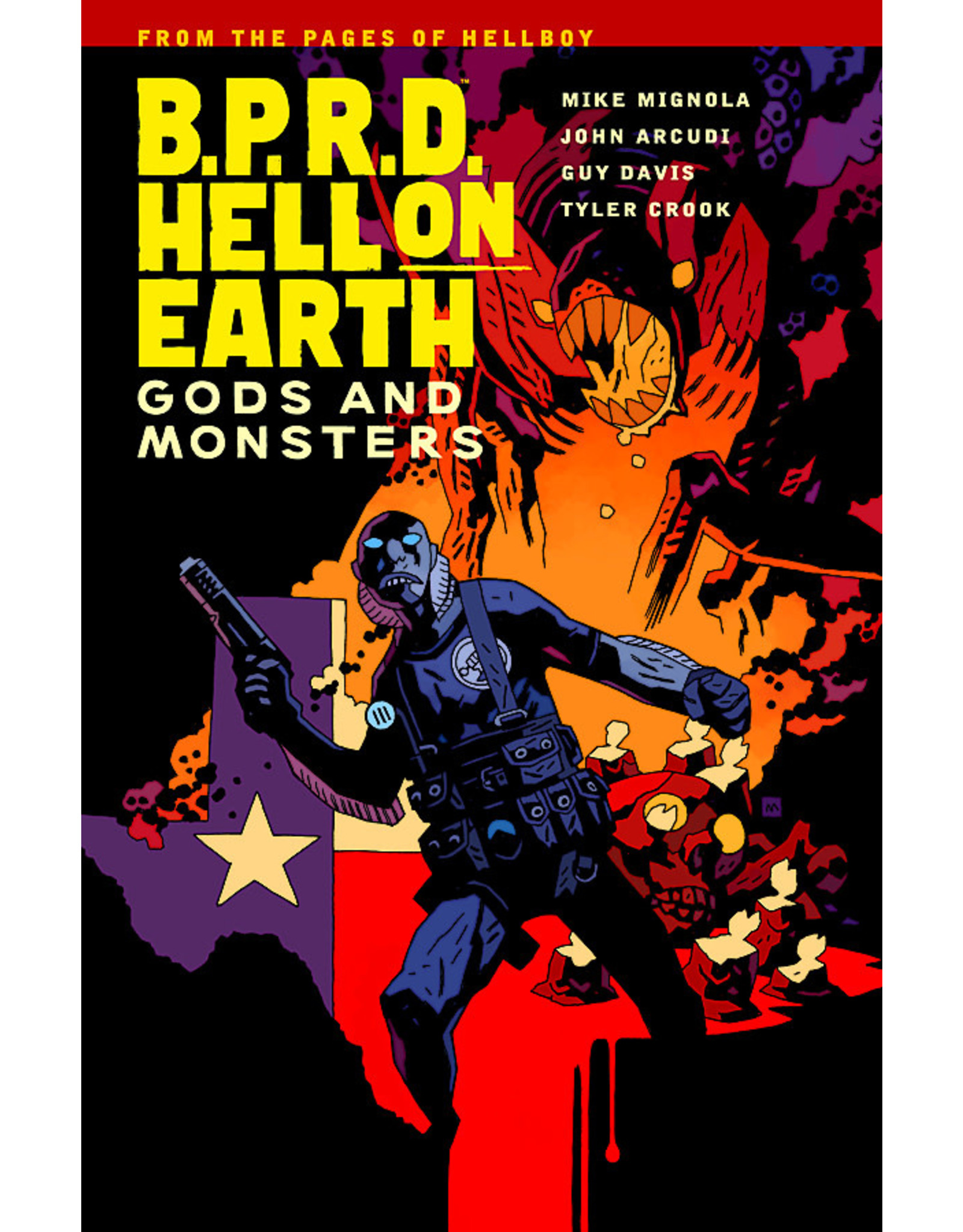 DARK HORSE COMICS BPRD HELL ON EARTH TP VOL 02 GODS AND MONSTERS