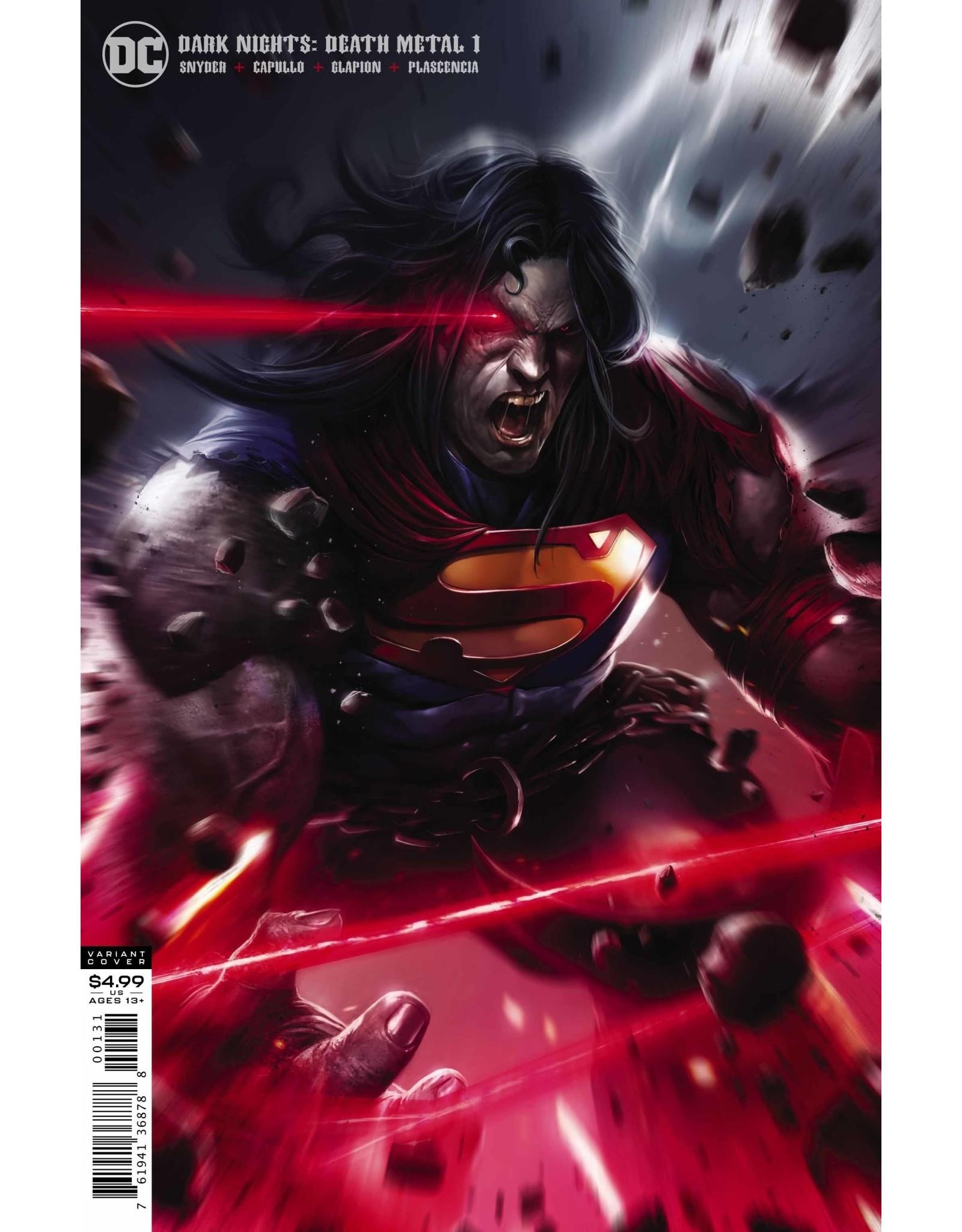 DC COMICS DARK NIGHTS DEATH METAL #1 (OF 6) MATTINA SUPERMAN VAR ED