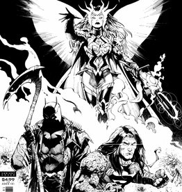 DC COMICS DARK NIGHTS DEATH METAL #1 (OF 6) MIDNIGHT PARTY VARIANT
