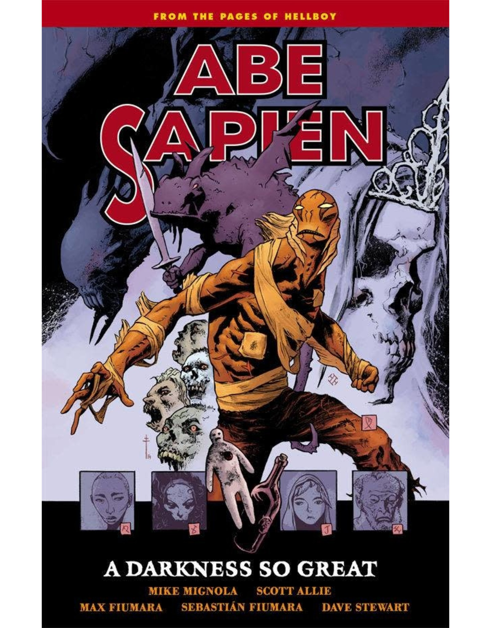 DARK HORSE COMICS ABE SAPIEN TP VOL 06 DARKNESS SO GREAT