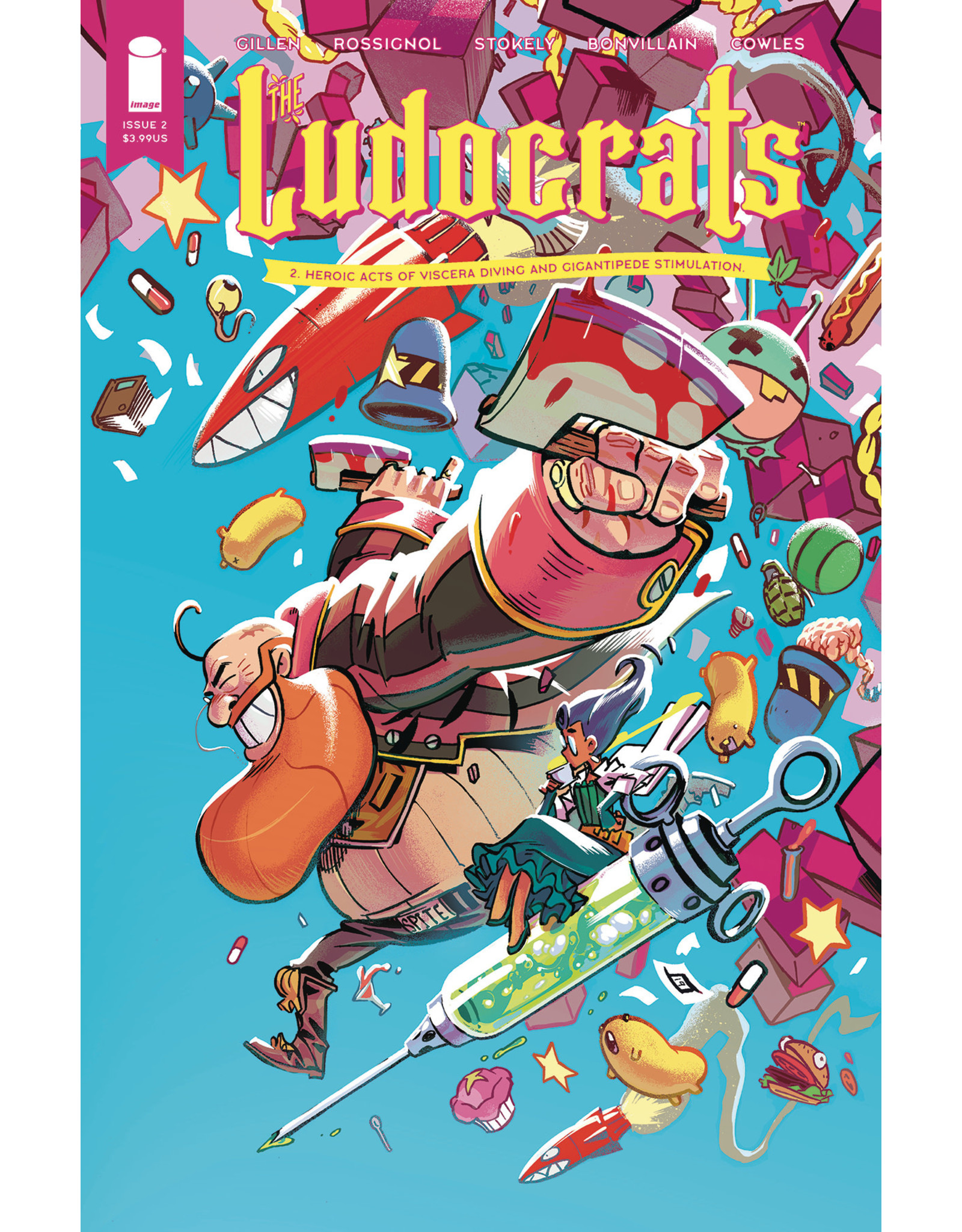IMAGE COMICS LUDOCRATS #2 (OF 5) CVR A STOKELY