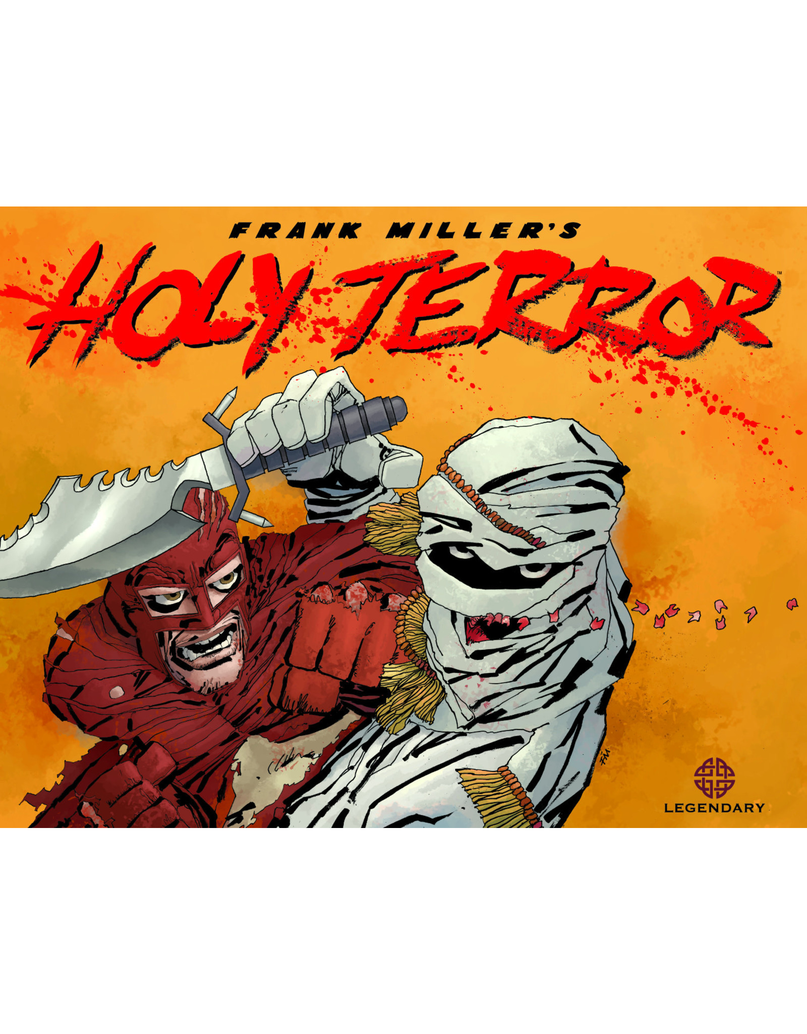 LEGENDARY COMICS HOLY TERROR HC