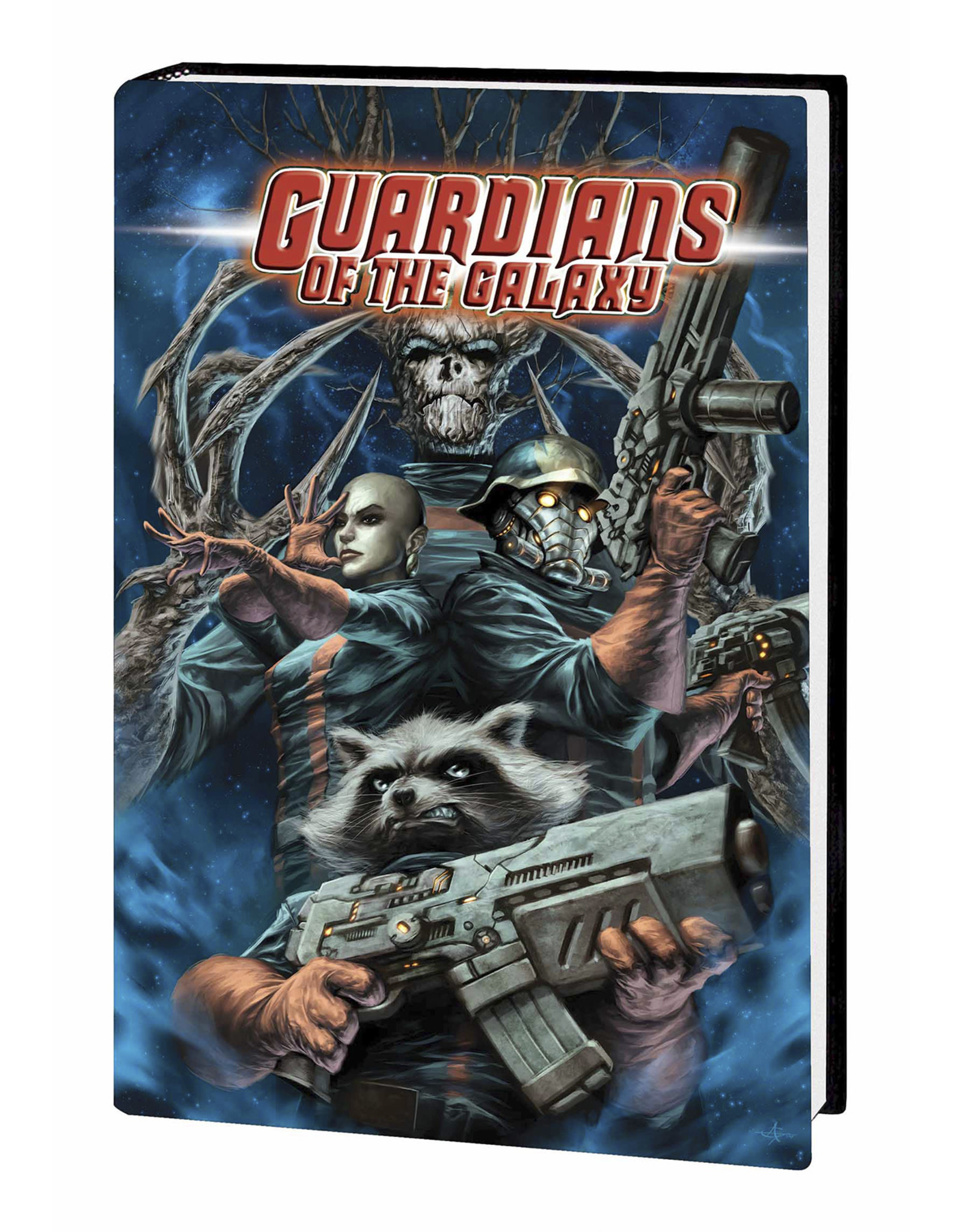 MARVEL COMICS GUARDIANS OF GALAXY BY ABNETT AND LANNING OMNIBUS HC