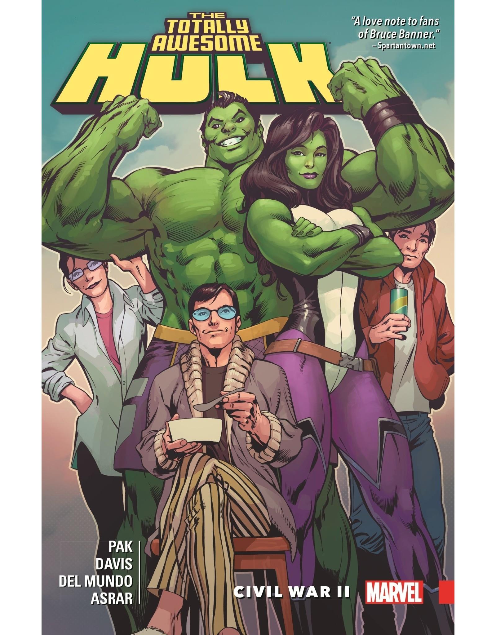 MARVEL COMICS TOTALLY AWESOME HULK VOLUME 02 CIVIL WAR II TRADE PAPERBACK