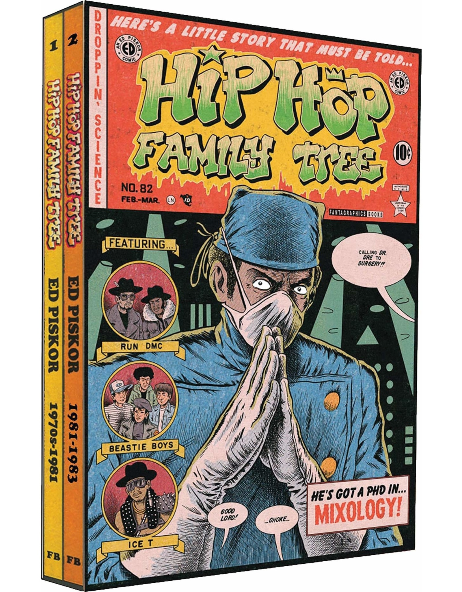 FANTAGRAPHICS BOOKS HIP HOP FAMILY TREE GN BOX SET 1975-1983