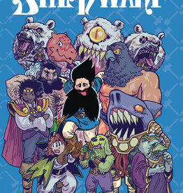 ONI PRESS INC. SAVAGE BEARD OF SHE DWARF GN