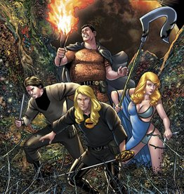 AVATAR PRESS INC GEORGE RR MARTIN IN THE HOUSE OF THE WORM TP