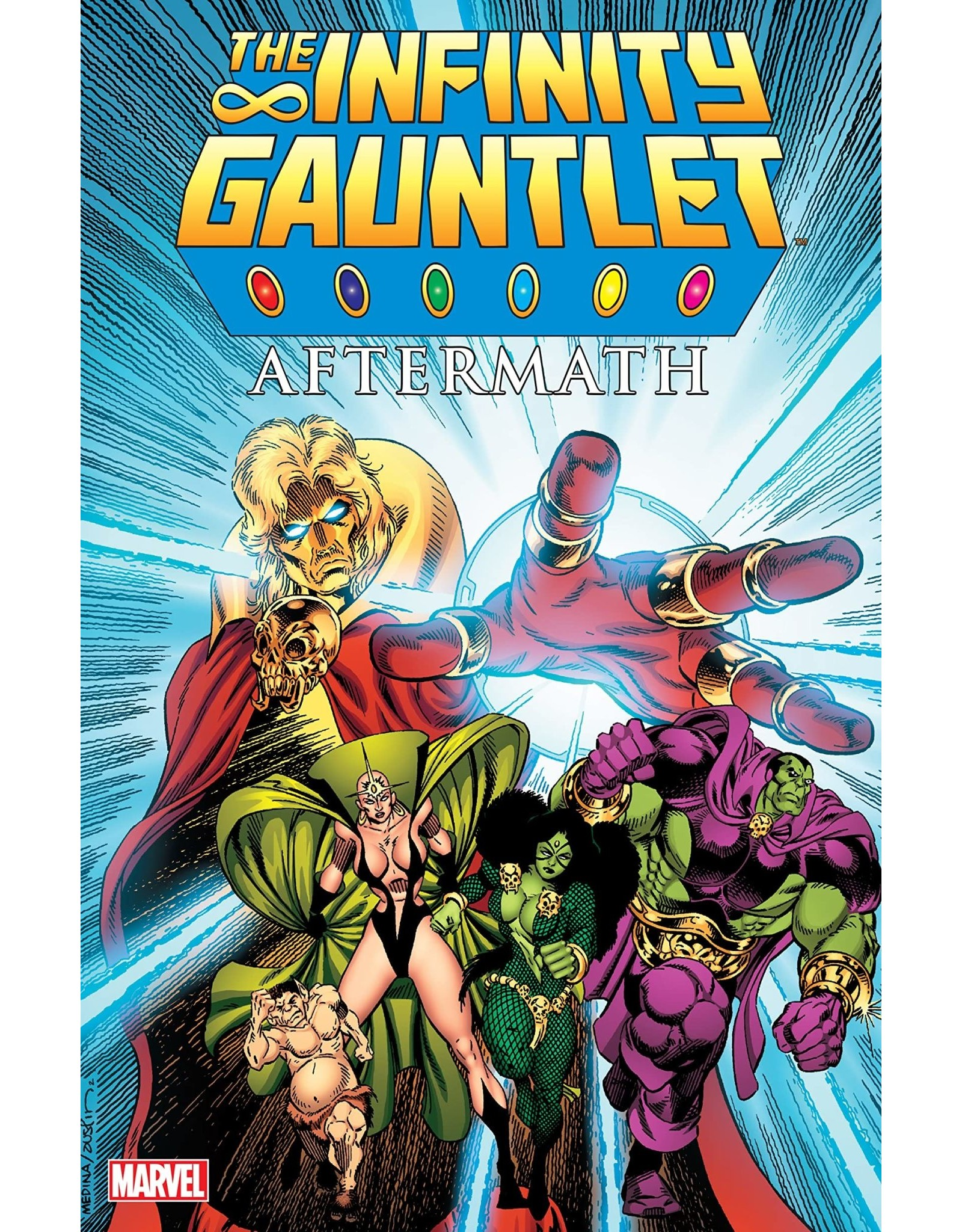 MARVEL COMICS INFINITY GAUNTLET AFTERMATH TRADE PAPERBACK