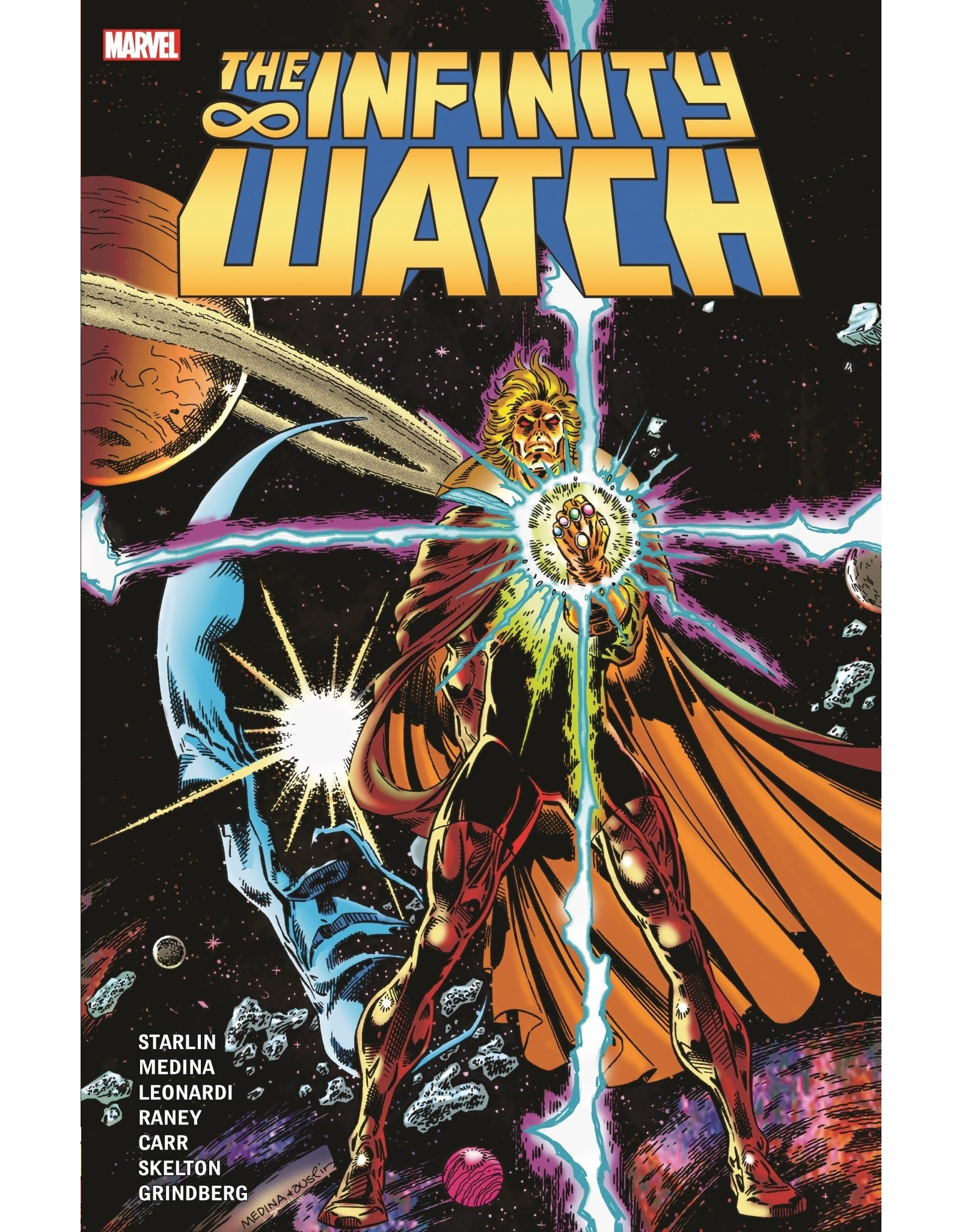 MARVEL COMICS THE INFINITY WATCH VOLUME 01 TRADE PAPERBACK