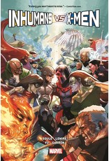 MARVEL COMICS INHUMANS VS X-MEN HARDCOVER