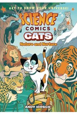 :01 FIRST SECOND SCIENCE COMICS CATS NATURE & NURTURE GN