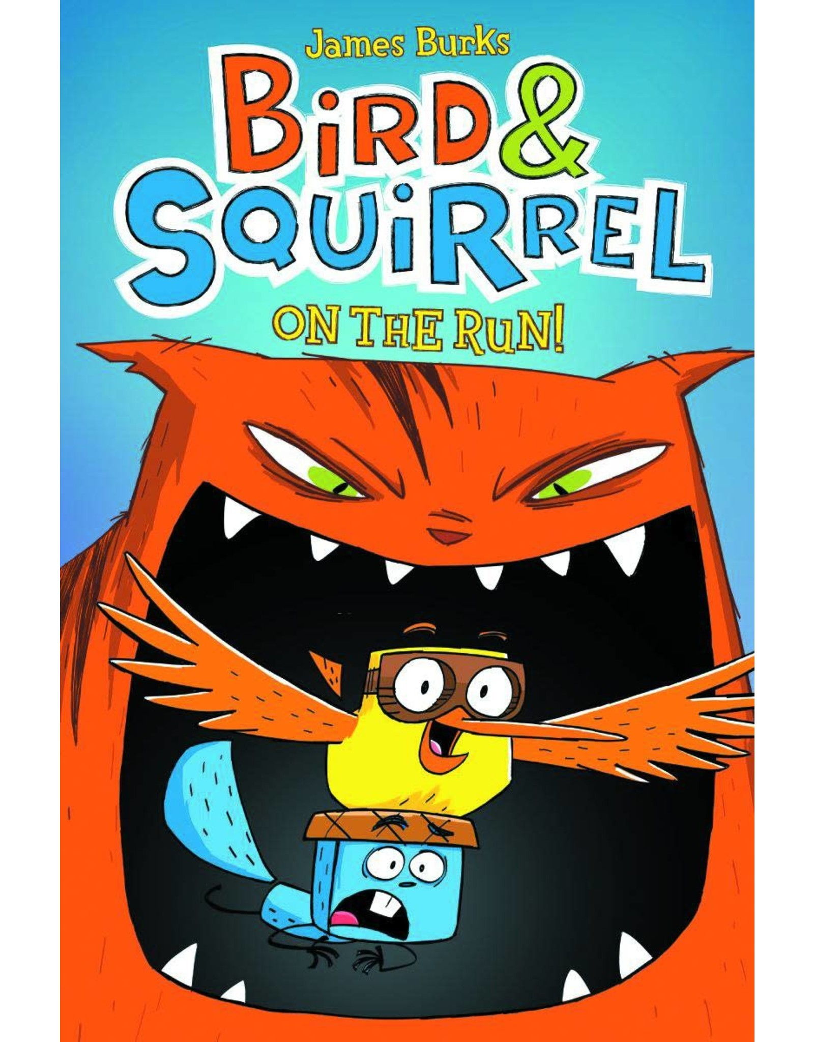 GRAPHIX BIRD & SQUIRREL GN #1 ON THE RUN