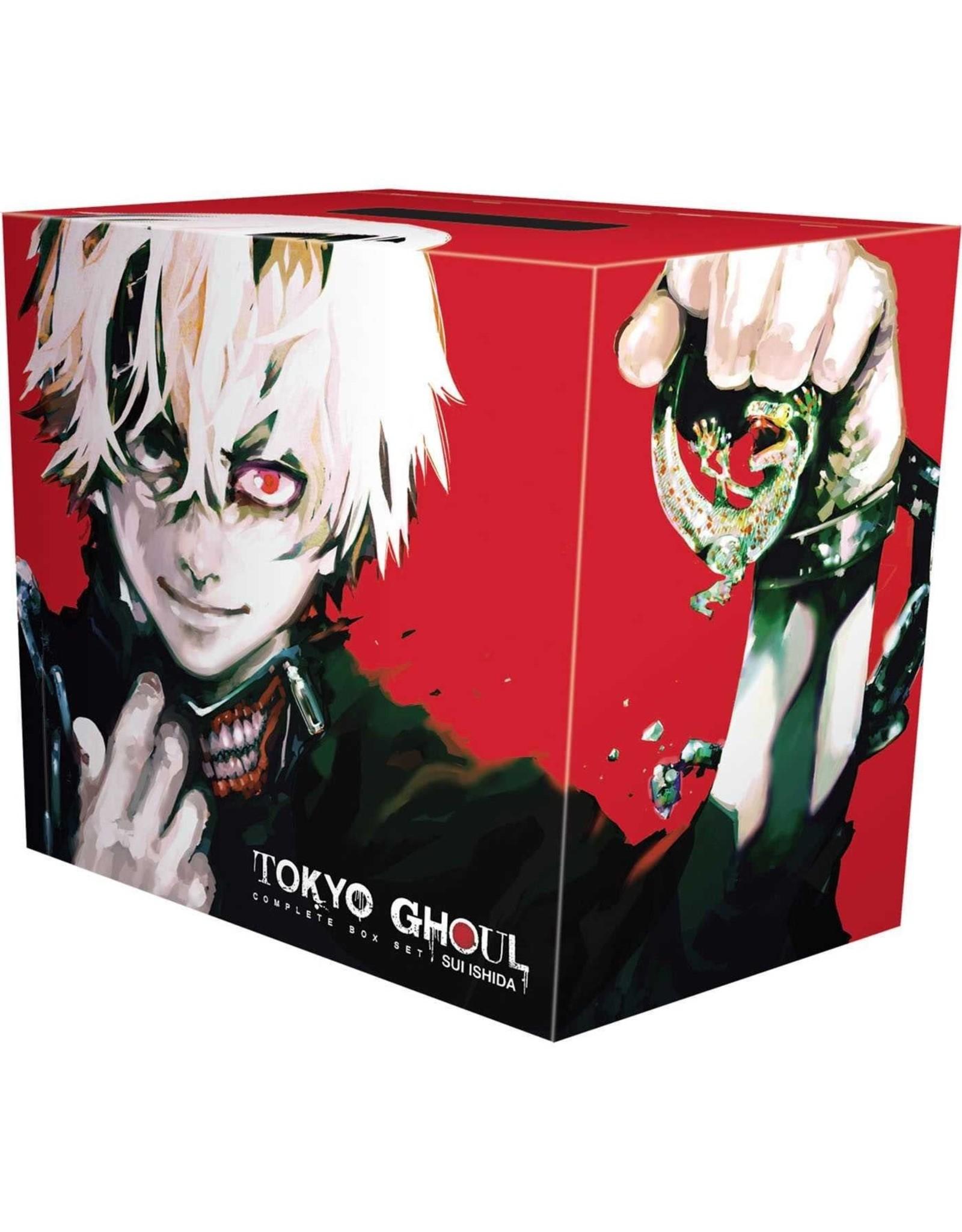 VIZ MEDIA LLC TOKYO GHOUL COMPLETE BOX SET VOL 1-14