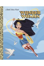 GOLDEN BOOKS DC SUPER HEROES WONDER WOMAN LITTLE GOLDEN BOOK HC