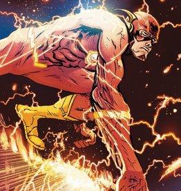 DC COMICS FLASH #756 CARD STOCK DANIEL W JOHNSON VAR ED