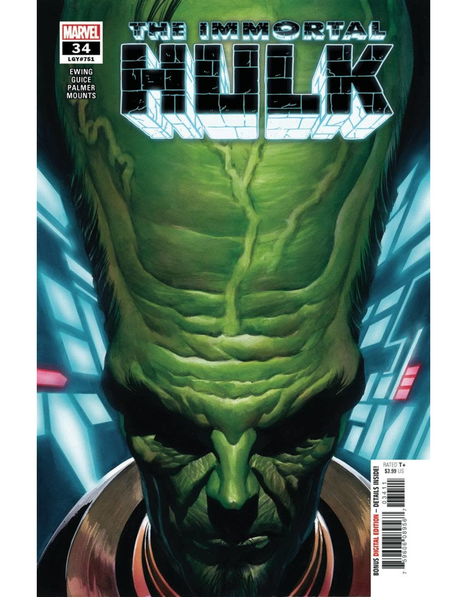 MARVEL COMICS IMMORTAL HULK #34