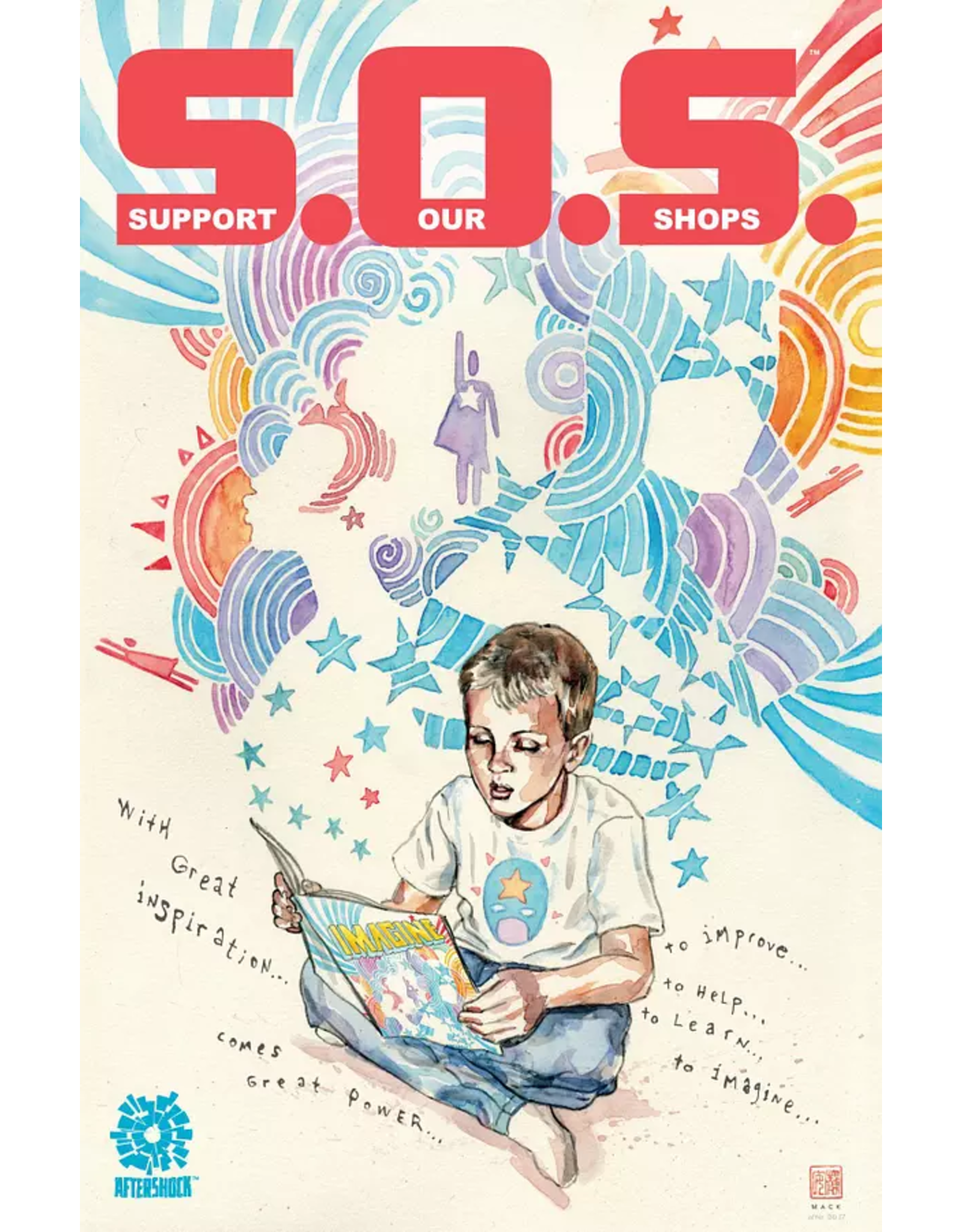 AFTERSHOCK COMICS S.O.S. (SUPPORT OUR SHOPS) BENEFIT COMIC