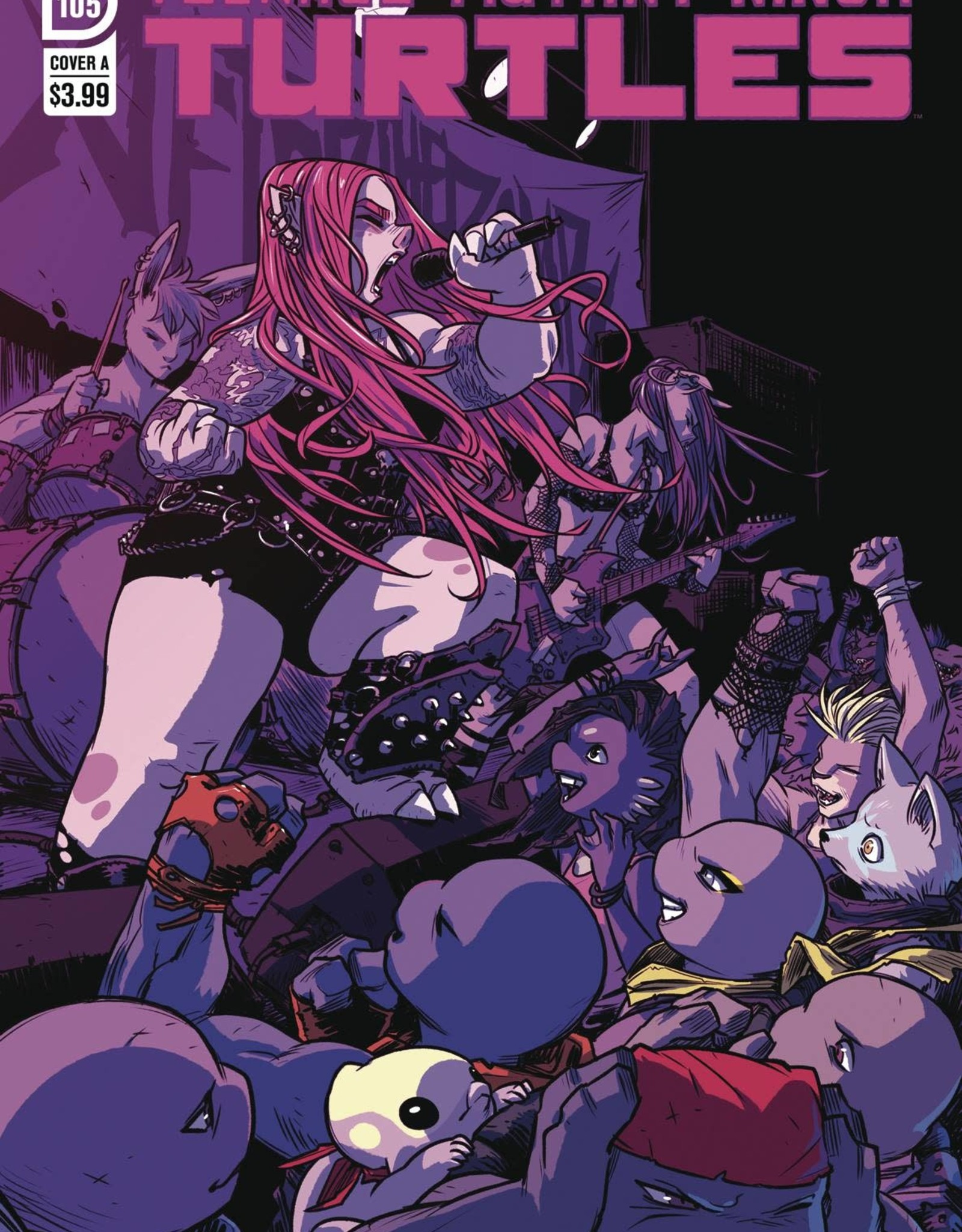 IDW PUBLISHING TMNT ONGOING #105 CVR A CAMPBELL