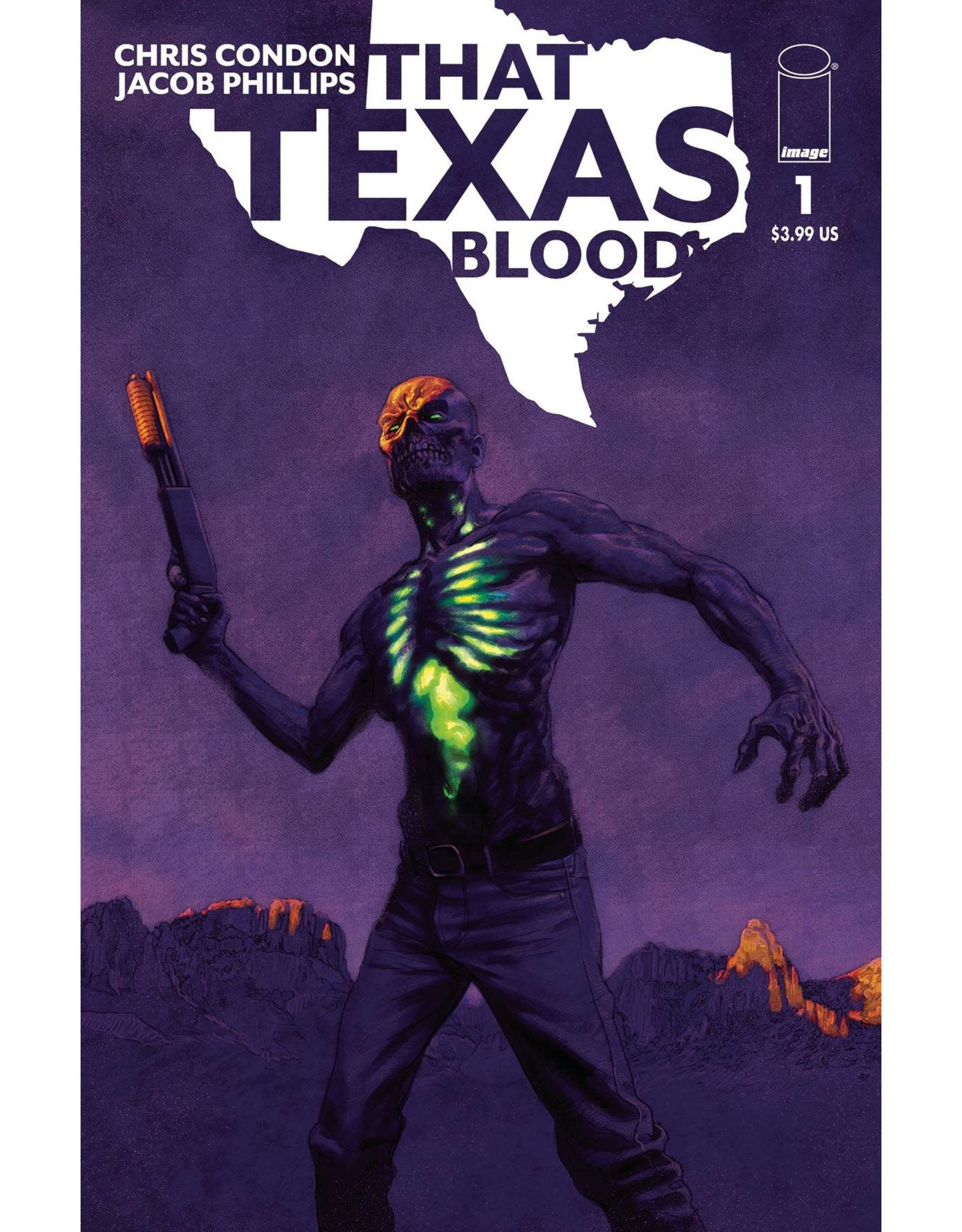 IMAGE COMICS THAT TEXAS BLOOD #1 CVR B SEAN PHILLIPS