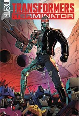 IDW PUBLISHING TRANSFORMERS VS TERMINATOR #2 (OF 4) CVR B COLLER