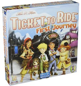 DAYS OF WONDER TICKET TO RIDE FIRST JOURNEY EUROPE MAP