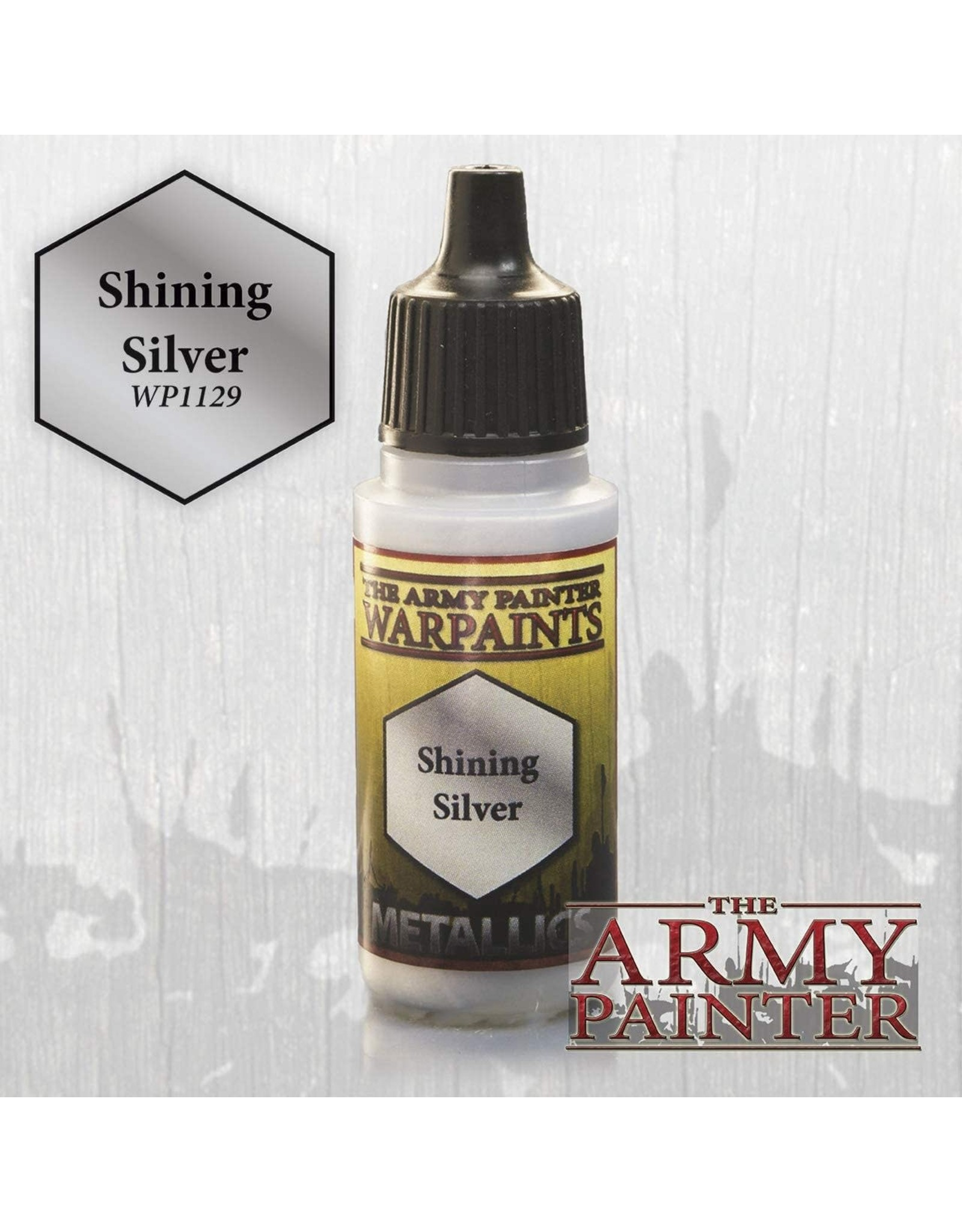 THE ARMY PAINTER ARMY PAINTER WARPAINTS SHINING SILVER