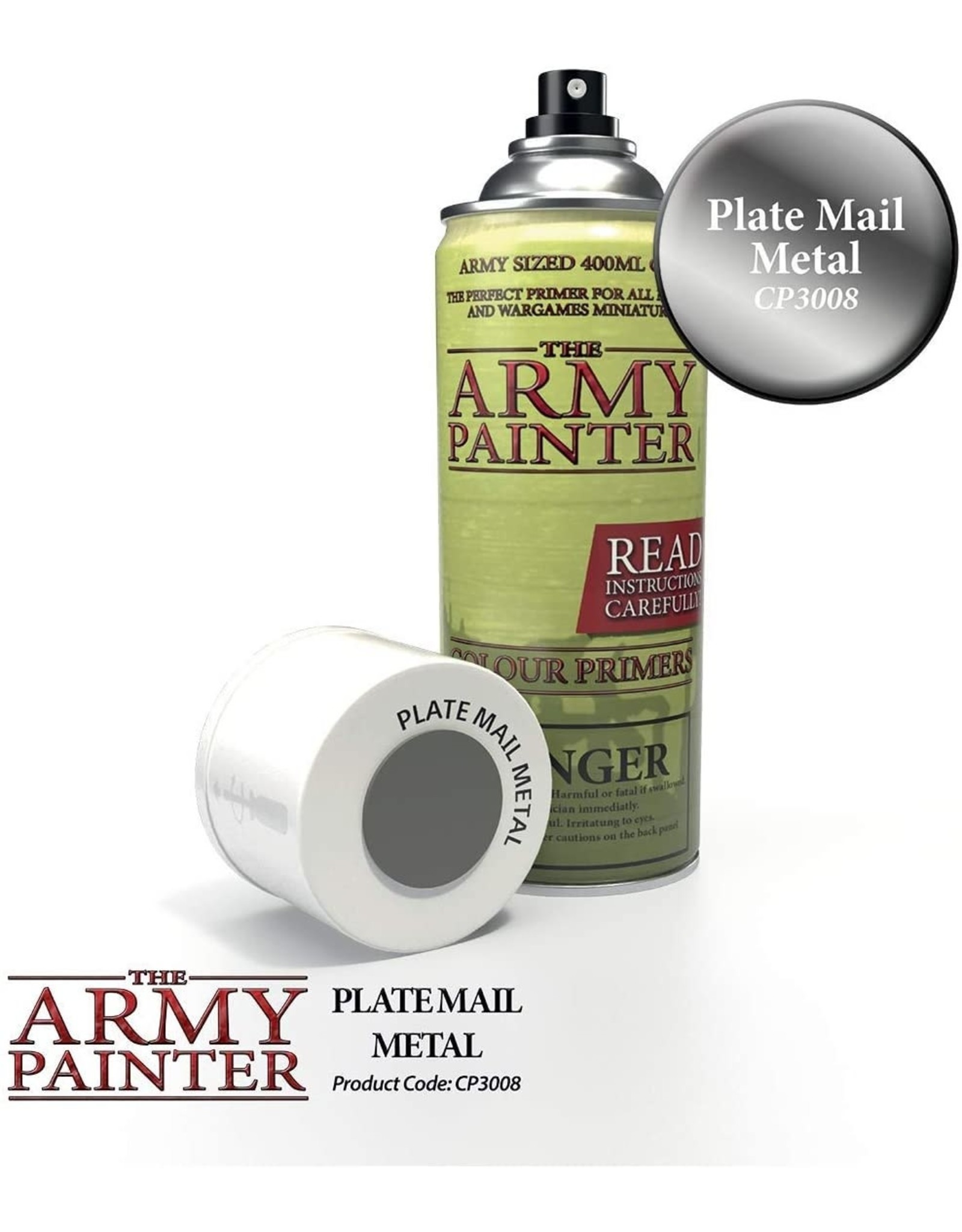 THE ARMY PAINTER ARMY PAINTER COLOR PRIMER PLATEMAIL METAL