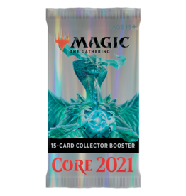 WIZARDS OF THE COAST MTG CORE 2021 COLLECTOR BOOSTER PACK