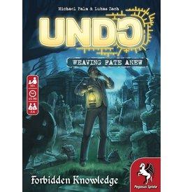 PEGASUS SPIELE UNDO FORBIDDEN KNOWLEDGE