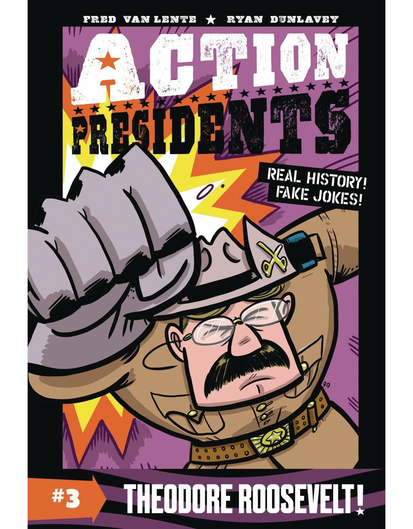ACTION PRESIDENTS COLOR SC GN VOL 03 THEODORE ROOSEVELT