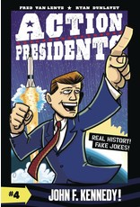 ACTION PRESIDENTS COLOR SC GN VOL 04 JOHN F KENNEDY