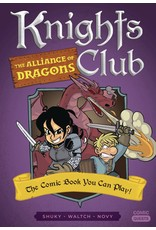 QUIRK BOOKS COMIC QUESTS KNIGHTS CLUB ALLIANCE OF DRAGONS