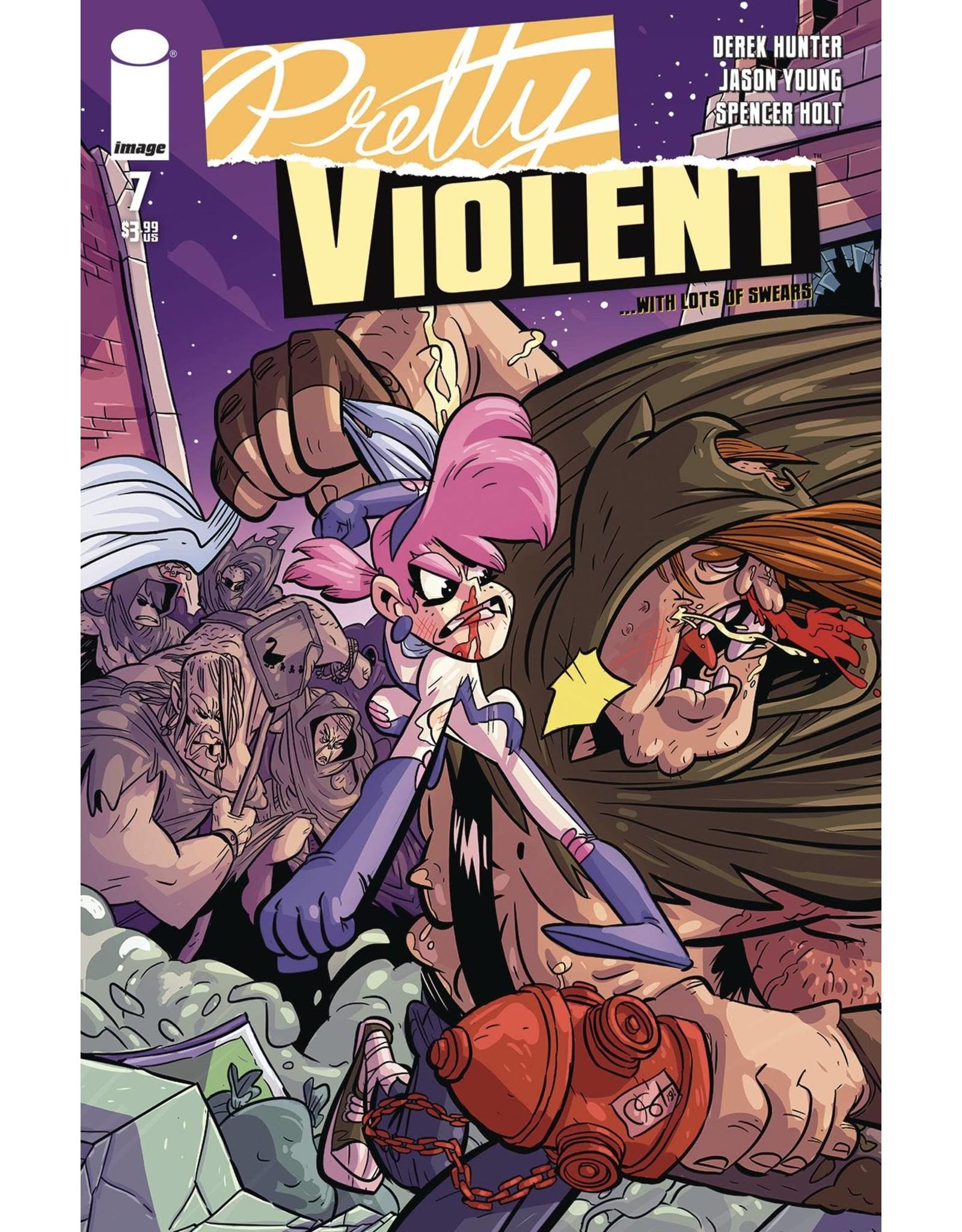 IMAGE COMICS PRETTY VIOLENT #7