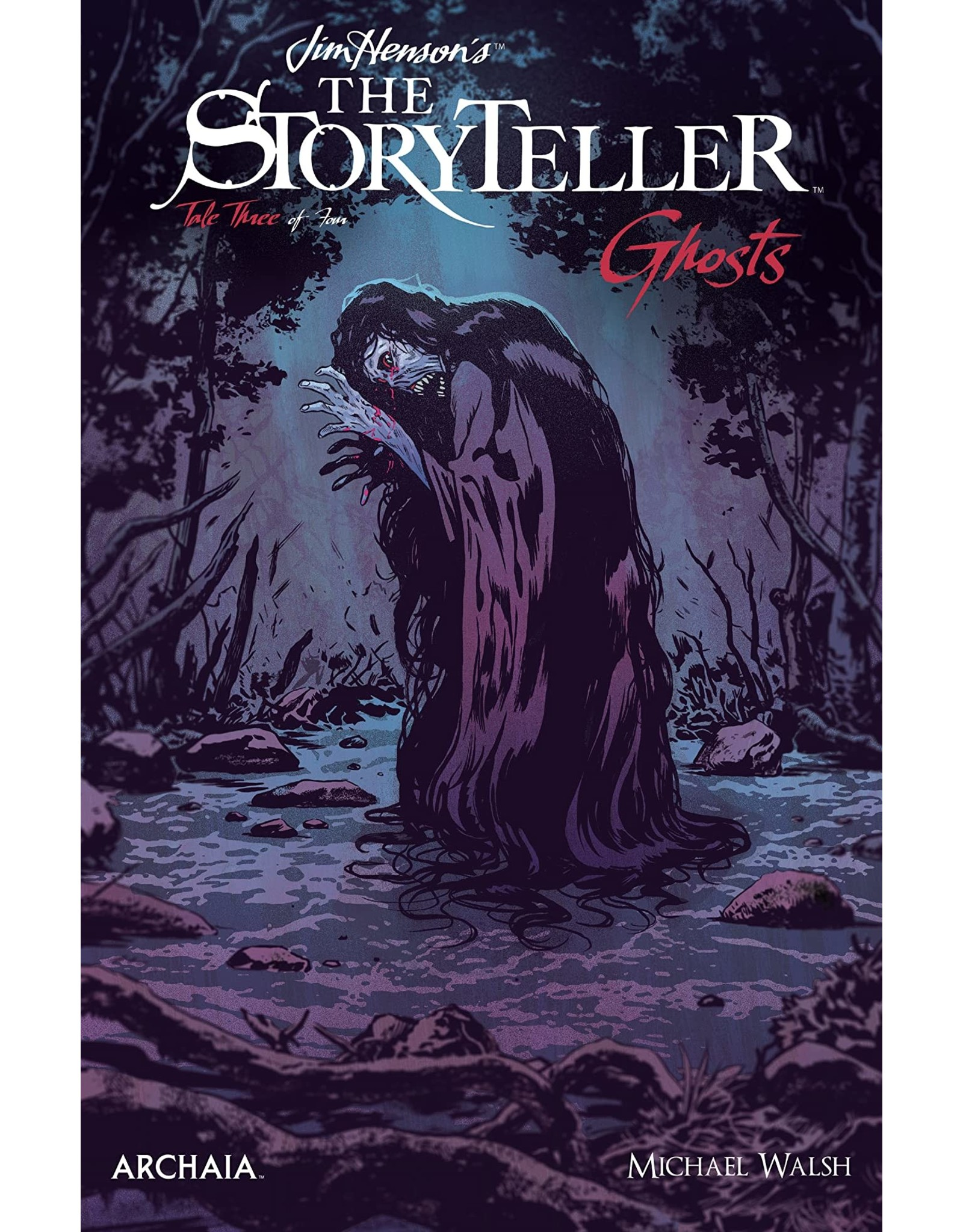BOOM! STUDIOS JIM HENSON STORYTELLER GHOSTS #3 (OF 4) CVR A WALSH