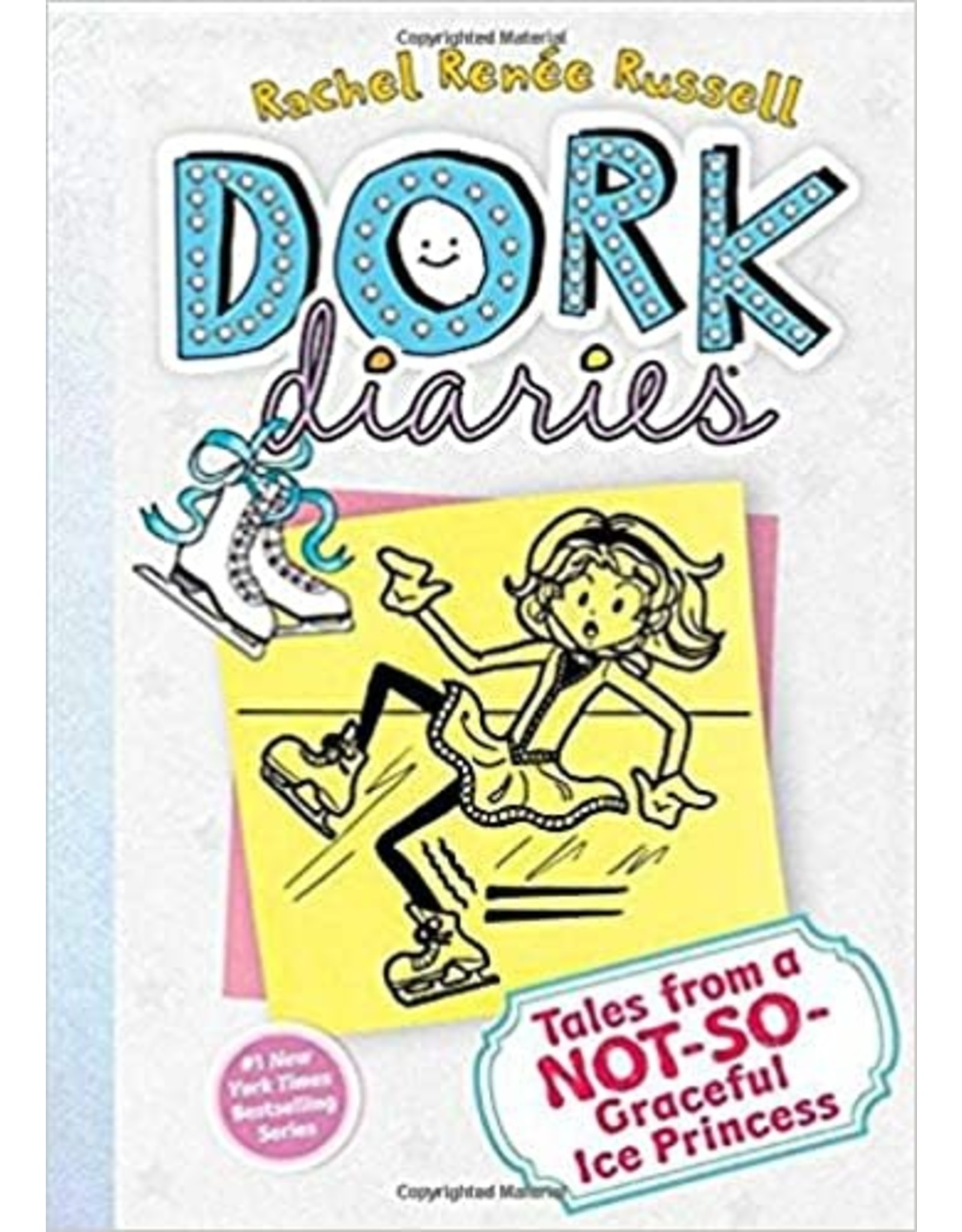 ALADDIN BOOKS DORK DIARIES HC VOL 04 TALES FROM A NOT SO GRACEFUL ICE PRINCESS
