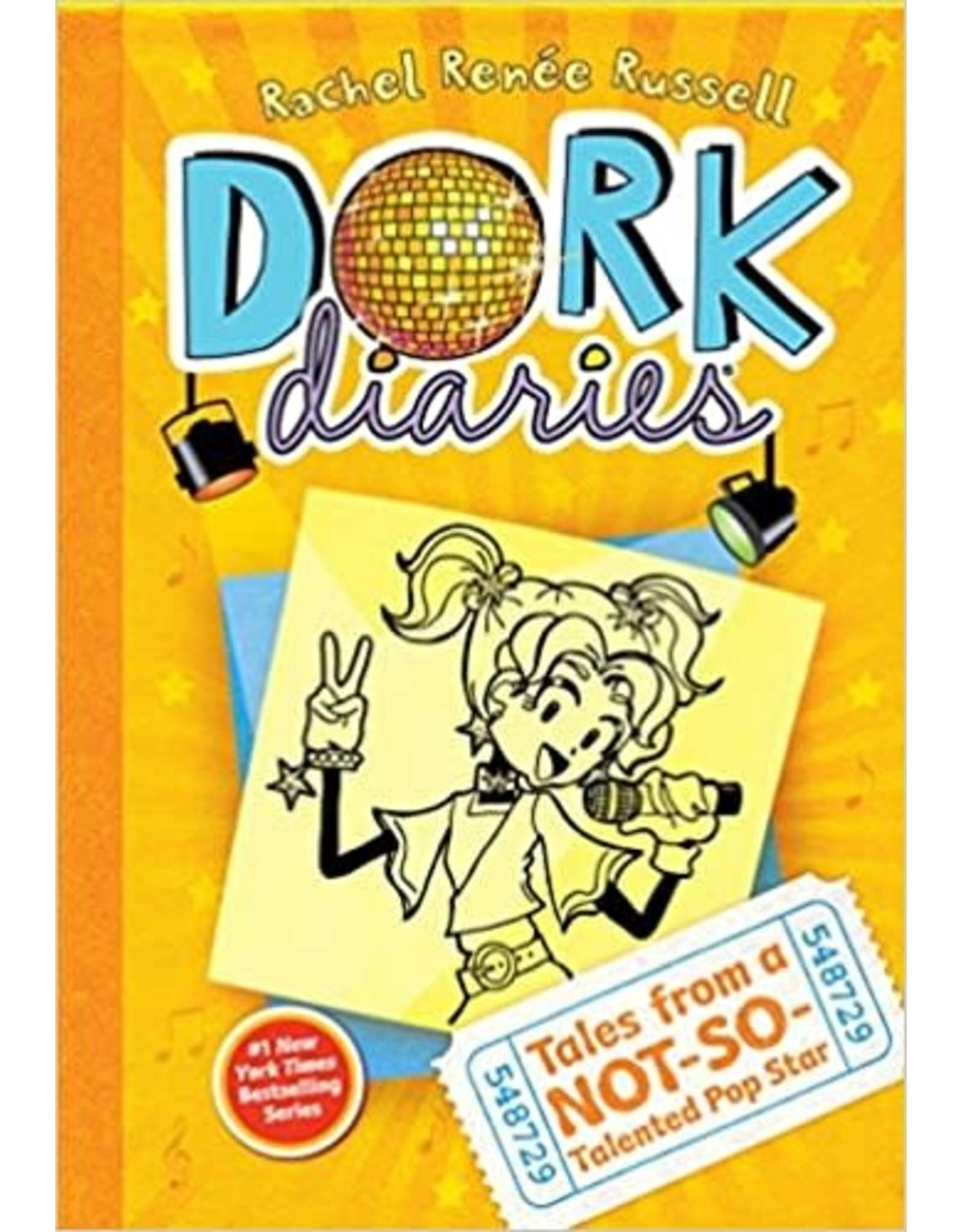 ALADDIN BOOKS DORK DIARIES HC VOL 03 TALES FROM A NOT SO TALENTED POP STAR
